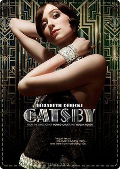 Elizabeth Debicki's short crop in THe Great Gatsby- 1920s Hairstyles