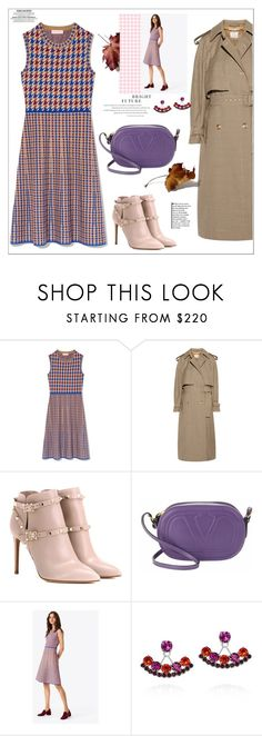 """""""Outfit Of The Day"""" by faten-m-h ❤ liked on Polyvore featuring Tory Burch, STELLA McCARTNEY, Valentino, Joomi Lim, plaid, outfitoftheday and polyvoreeditorial"""