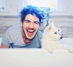 Joey Graceffa and Storm
