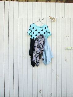 upcycled clothes | Upcycled clothing / Patchwork Dress / Funky ... | Clothing and Acces ...
