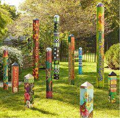 , Cute and cool garden art for kids design ideas 07 - Round Decor. , 50 Cute and Cool Garden Art For Kids Design Ideas Unique Gardens, Amazing Gardens, Beautiful Gardens, Garden Crafts, Garden Projects, Yard Art Crafts, Outdoor Art, Outdoor Gardens, Indoor Outdoor