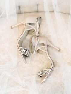 Embellished stilettos: Shoes: Bella Belle - http://www.stylemepretty.com/portfolio/bella-belle Photography: Lauren Fair Photography - laurenfairphotography.com Read More on SMP: http://www.stylemepretty.com/2017/03/14/romantic-pastel-outdoor-wedding-shoot/