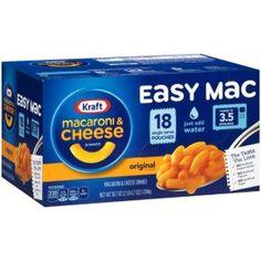 Quick Mac And Cheese, Making Mac And Cheese, Kraft Mac N Cheese, Macaroni Cheese, Microwave Dinners, Dorm Food, Chicken Patties, Rainbow Food, Sweet Like Candy