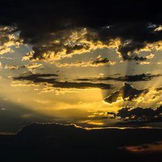 Primeros rayos de sol en el delta del Ebro #belleza