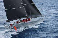 George David's Rambler 88 at the start of the 2015 RORC Caribbean 600 ©Tim Wright/Photoaction.com
