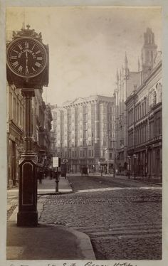 Palace Hotel, Montgomery Street, San Francisco (ca. 1885) Carleton Watkins, photog. via @gettymuseum