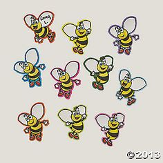Bee Counting Magnets orientaltrading.com