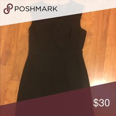 The Limited notch front dress, size 2 The Limited notch front dress, size 2. Black. Zips up back. Fits more like a 4. Great for work! The Limited Dresses Midi