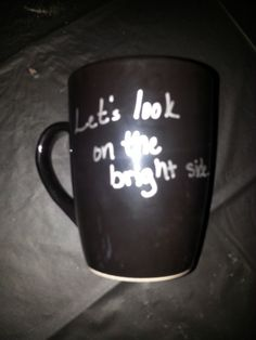 Let's look on the bright side...At least my coffee won't get cold in HELL!