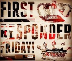 First Responder Friday! Free fountain drinks for all first responders! #theartisanrocks