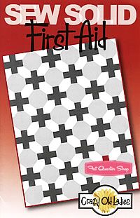First Aid Quilt Pattern Crazy Old Ladies #COL-496