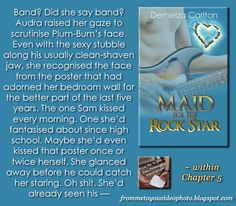 MAID FOR THE ROCK STAR by Demelza Carlton -- Read my #bookreview here: http://frommetoyouvideophoto.blogspot.com/2015/07/disappointmentville-romance-island.html  #teaser #bookteaser #rockstarromance #rockstar #romance #contemporary #contemporaryromance #erotica #eroticromance #romancenovel #romanceislandresortseries #demelzacarlton #books