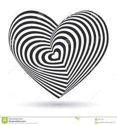 """Résultat de recherche d'images pour """"coeur blanc fond noir"""""""