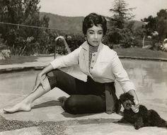Elizabeth Taylor #vintage #denim