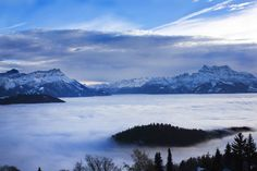 I'll never forget that view! Leysin, Switzerland <3