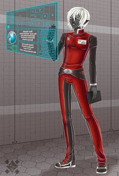 Shadowrun Character, Project Drow,  Space Uniform,