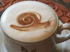 A Drinkable Snail! #cafecito