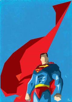 Superman minimalista