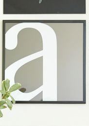 ANNO Anno-taulu 40x40cm a-kirjain