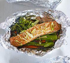 Рыбные кулёчки по-китайски