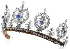Princess Thyra's of Denmark (1880-1945) sapphire tiara.