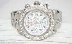 14ctw BREITLING Stainless Steel Super Avenger Diamond Bezel Watch   A13370  Buy It Now or Best Offer US $15,500.00