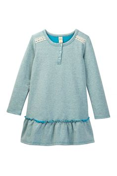 Long Sleeve Ruffle Dress (Toddler, Little Girls, & Big Girls) by Harper Canyon on @nordstrom_rack