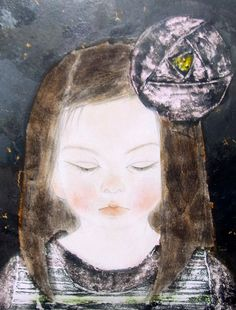 Kai Fine Art is an art website, shows painting and illustration works all over the world. Japanese Painting, Chinese Painting, Japanese Prints, Japanese Art, Collages, Spring Art, Asian Art, Love Art, Painting & Drawing