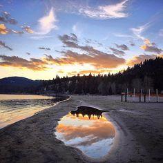 Lake Tahoe sunsets though.