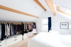Dachboden Schrank begehbarer schrank auf dem dachboden ist die lösung ideen wohnen