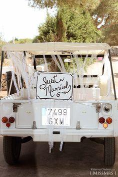 { MissMrs } mucho más que una boda  Mehari #boda   Just married