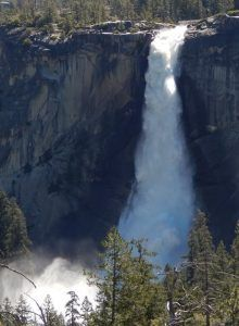 Nevada Fall Yosemite National Park Yosemite National Park, National Parks, Yosemite Waterfalls, Nevada, Tours, Spring, Outdoor, Outdoors, Outdoor Games