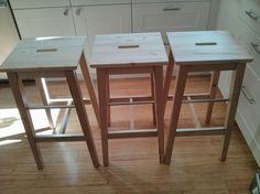 Ikea birch bar stools