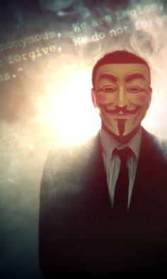 anonymous mask, like V for Vendetta