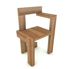 High detailed model of the steltman chair from Gerrit Rietveld. This photoreal model will enhance detail and realism to any of your rendering projects. Suitable for visualizations, advertising renders and other purposes. Stool, Chair, Advertising, Models, 3d, Detail, Projects, Furniture, Home Decor