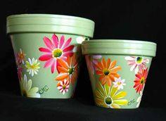 Daisy Flowerpots