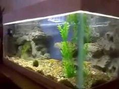 Самодельный грот для аквариума своими руками