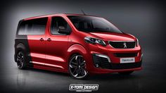 Peugeot Traveller, Citroen Spacetourer & Toyota Proace Rendered As Hot Vans – Toyota News