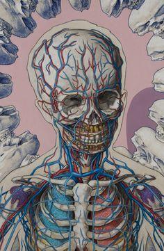 Expulsion Series by Michael Reedy - growth - Funny Cartoon Illustrations by Patrick Moore - Medical Illustration, Illustration Art, Cartoon Illustrations, Brain Art, Medical Art, A Level Art, Science Art, Skull Art, Art Inspo