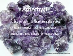 One just cannot have enough Amethyst.