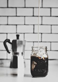 drink // iced coffee