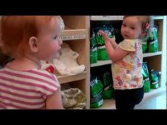 How is Real Diaper Circle Leader Josh using his Flip video camera? He caught his daughter Charlie telling another toddler all about cloth diapers in their store in central New York. We start the volunteers young.
