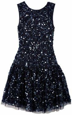 Derhy - sabine - robe paillette - - fille - bleu (marine) - 10/12 ans Derhy,http://www.amazon.fr/dp/B00ESYUXA6/ref=cm_sw_r_pi_dp_B7dItb0SK9J2ZKQ9