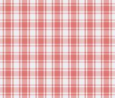 Plaid_Pink_on_Grey fabric by lana_gordon_rast_ on Spoonflower - custom fabric