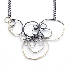 Ombre Circle Necklace