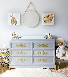 The Cool Mom's Guide to Styling a Gender-Neutral Nursery via @MyDomaine