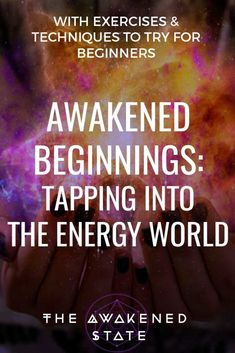 Awakened Beginnings: Tapping into the energy world - The Awakened state. Beyond this material world is a ethereal realm of Energy, thought, and vibration. Physics has taught us that we are not merely physical beings in a material world but the opposite, e Spiritual Guidance, Spiritual Growth, Spiritual Awakening, Awakening Quotes, Spiritual Thoughts, Spiritual Enlightenment, Spiritual Quotes, Einstein, Frequency