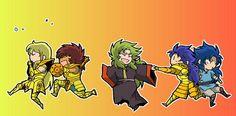 Saint Seiya Gold Saints 3