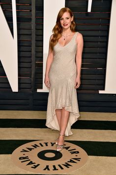 Jessica Chastain. See what all the stars wore to the Academy Awards' biggest after parties.