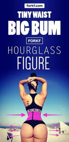 Yes, you can beat genetics and work your way out to get a hourglass figure!